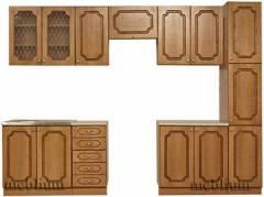 кухня meblium 46-72. Фасад МДФ плівка- від 4000 грн. за 1 м.п.