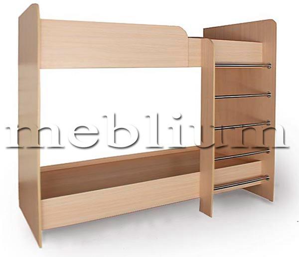 Купити Ліжко 6 - 2-х ярусне - 21 1718 в Києві: доступна ціна в Україні, відгуки та характеристики Інтернет магазин MEBLIUM