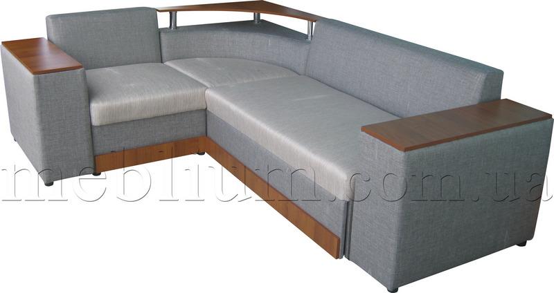 Кутовий диван Вашингтон New-10 Варіант 2: основа - лугано крем, координат - лугано крем (Артекс).