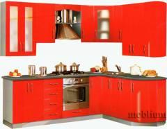 Кухня meblium 22-72. Фасад мдф пленка - от 4000 за 1 м.п.