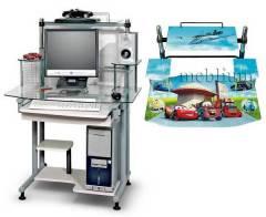 Компьютерный стол С-2А Тачки-48 С-2А Тачки-48