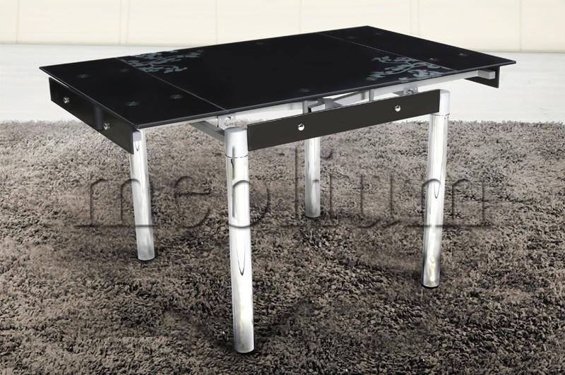 Стол обеденный раскладной Франческа-60 хром