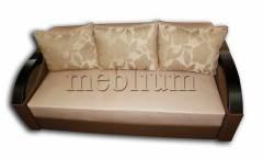 Софа Барон 160-90 Вариант обивки: Беж 08 + подушки золотые цветы