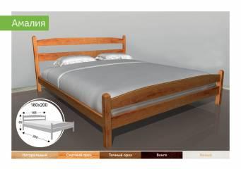Деревяне ліжко Амалія-91