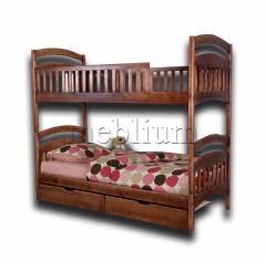 Ліжко двоповерхове Кіра-60