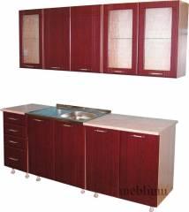Кухня meblium 24-72. Фасад мдф пленка - от 4000 за 1 м.п.