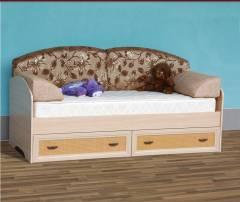 Кровать Рио 2 с ящиками и подушками -10