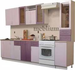 Кухня meblium 21-72. Фасад мдф пленка - от 4000 за 1 м.п.