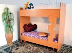 Кровать двух ярусная без шухляд-10 Кровать двух ярусная без шухляд-10