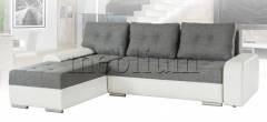 Угловой диван Женева -71 Вариант обивки: Магма(серый)