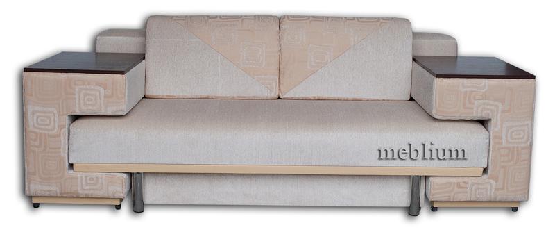 Диван с столом Астра 105-10 Вариант 6: основа - лада беж, координат - лада комб беж.