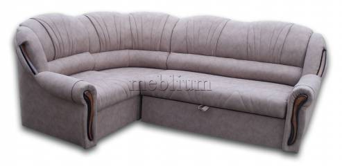 Угловой диван Лорд-90 Вариант обивки: весь диван - Мокка аллюр
