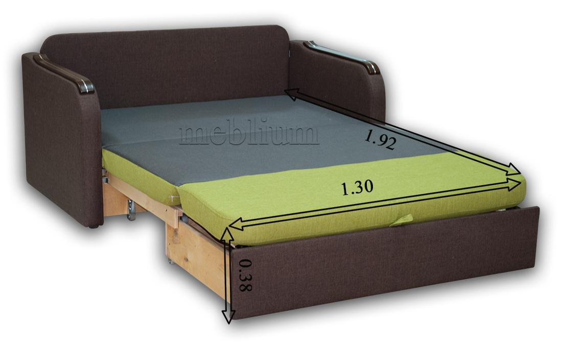 Диван Гном-Д 130-89 Размеры спального места: