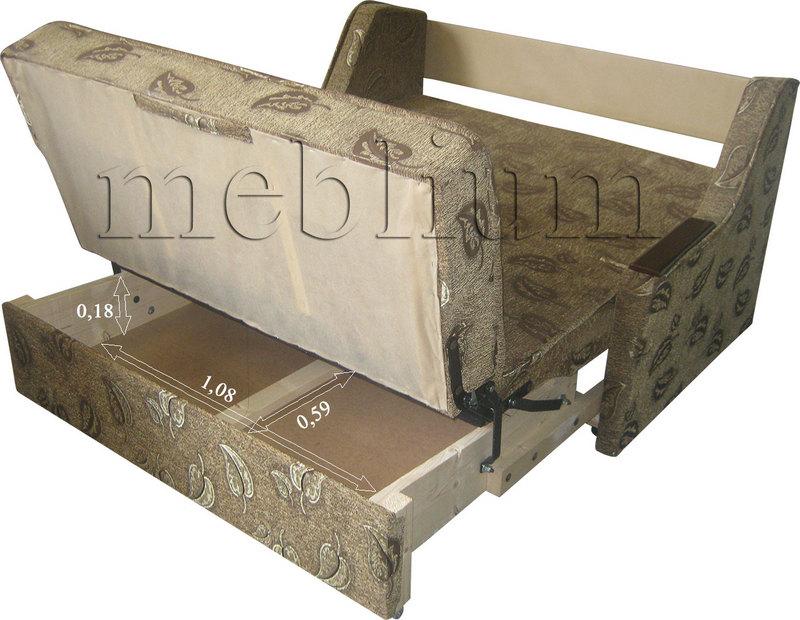 Meblium 4-3 томас Розміри ніши для білизни: