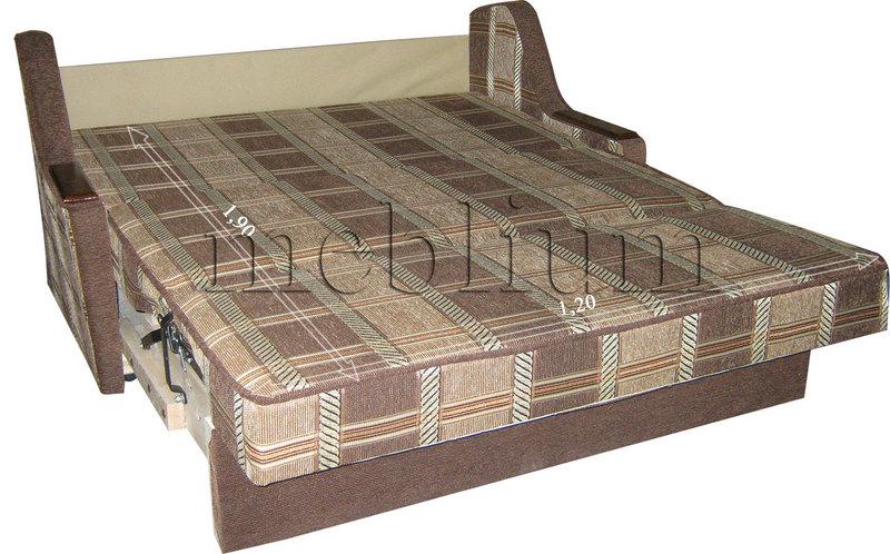 Meblium 4-3 томас Диван Meblium 4-3 в розкладеному вигляді: