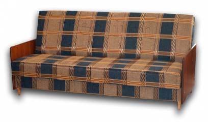 Диван-книжка бока ДСП-84 Вариант обивки: коса синяя