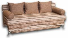 Софа Карина 1,40 на пруж. блоке-42 Вариант 26: весь диван - Бруно 623/624