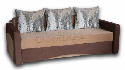 Софа Палермо-44 Вариант 7:основа -Вегас, координат - Бонд, подушки - Форест