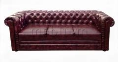 Диван Честер-6 Вариант оббивки: Весь диван оббит - Витэкс (кож.зам ) Филли 030