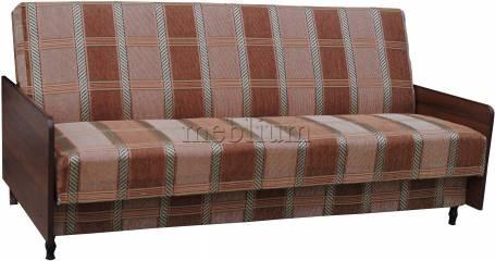 Диван-книжка бока ДСП-84 Коса коричневая Также эту модель заказивали в ткани :      мега коричнева