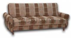 Диван Книжка бока ткань-74 Вариант обивки: коса коричневая