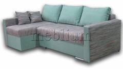 Уголовой диван Meblium 17-42 Лючия 549 + Букле 002
