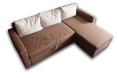 Универсальный угловой диван Мария-94 Вариант обивки: весь диван - саванна хезел