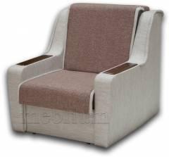 Кресло ЭШ-12 Вариант 12: основа - лугано ред, координат - лугано крем.