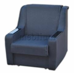 Кресло ЭШ-12 Вариант обивки: Багама Графит