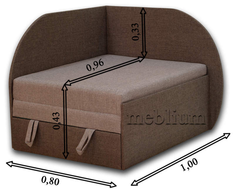 Дитячий диван Meblium 183-1 астра