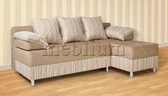Угловой диван Джаз -97 Вариант обивки: Едвин 7303 + комбин (Катекс)