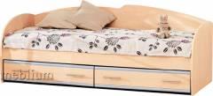 Кровать К-117-19 (ламели) Кровать К-117-19 (ламели)