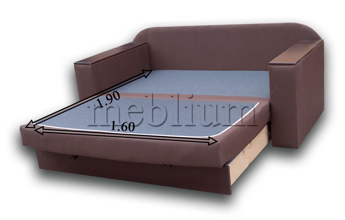 Диван Кент 160-89 Люкс Розміри спального місця
