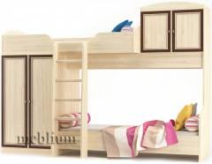 Кровать-горка Дисней-71 (с ламелями) Кровать-горка Дисней-71 (с ламелями)