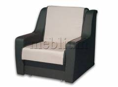 Кресло ЭШ-12 Вариант обивки: основа - Саванна грей, координат - саванна хезел