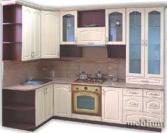 Кухня meblium 16-72. Фасад мдф плівка - від 4000 за 1 м.п.