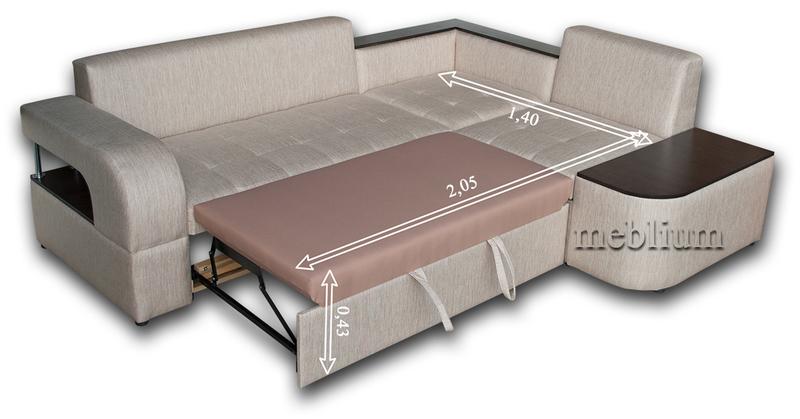 Кутовий диван Meblium 132-10 лугано