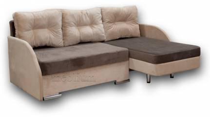 Кутовий диван Майа 1.60 (нов)-42 ТАКОЖ ЦЮ МОДЕЛЬ ЗАМОВЛЯЛИ В ТКАНИНI:основа - кордрой 472, координат - кордрой 379 (EximTextill).
