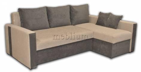 Уголовой диван Марта 160 (нов)-42 Вариант обивки: основа - Лидо, координат - Тс 662