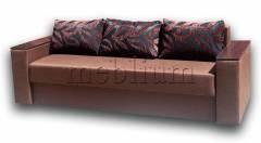 Диван Майстер-89 Вариант обивки: весь диван - Коричневий