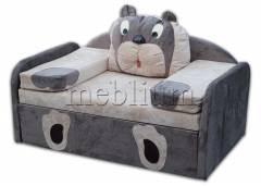 Дитячий диван МІШУТКА-14 Варіант обивки: Грей + Мокка