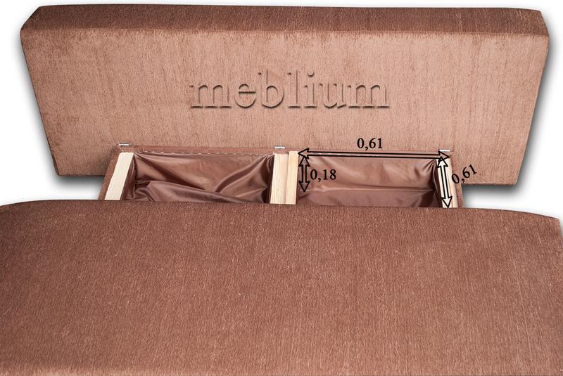 Диван с столом Астра 105-10 Размеры ниши для белья: