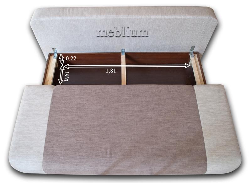 Софа Бона-42 Гига грин + Софа 102 Размеры нишидля белья: