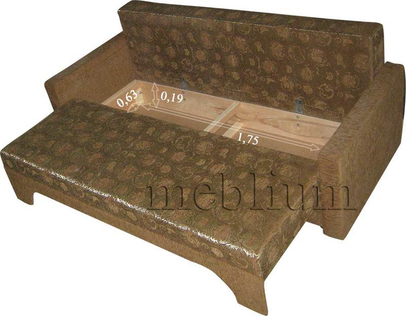 Meblium 12-3 томас Размеры ниши для белья: