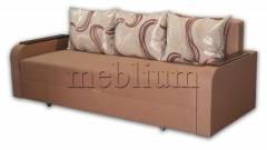 Диван Полина Дуэт-75 Лион 06 + Светло коричневый Вариант обивки: Лион 06 + Светло Коричневый