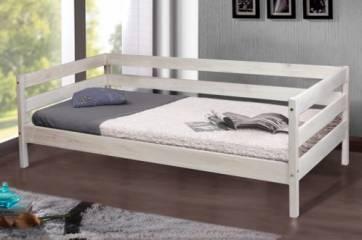 Кровать SKY-60 1,90x0,80 Кровать SKY 0,80-60 Беленый Дуб