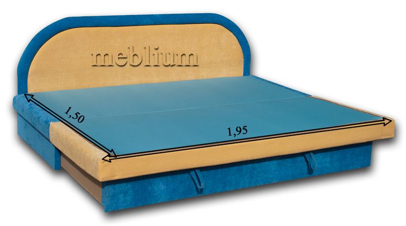 Диван Париж 1 томас Диван Meblium 136-1 в разложенном виде: