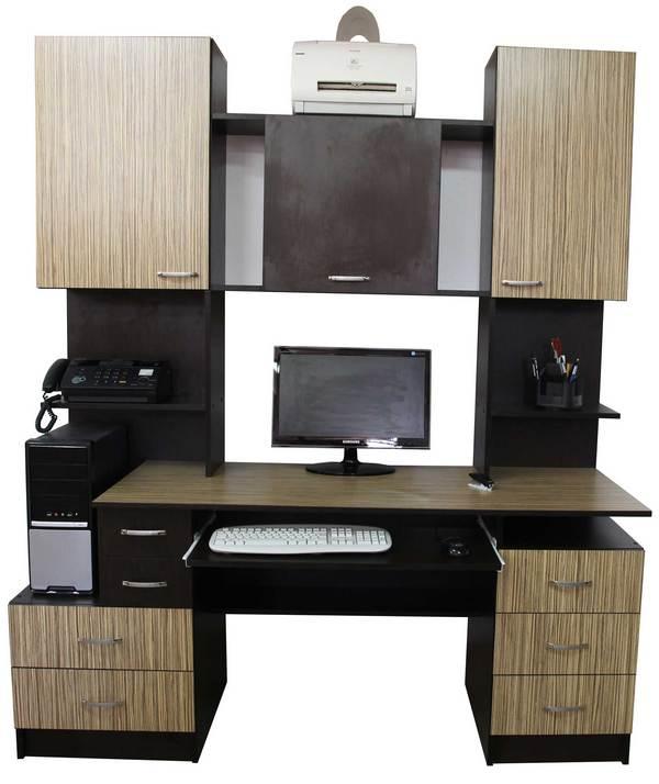 Комп'ютерний стіл Ніка-Посейдон-20