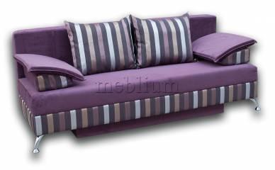 Диван Татьяна-89 Вариант 1: весь диван - фиолетовый