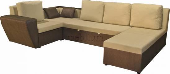 Угловой диван Цезарь-42 Основа: Филиппо, Координат: Спринг 06